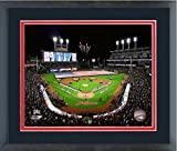 "Progressive Field Cleveland Indians 2016 World Series Stadium Photo (Size: 18"" x 22"") Framed"