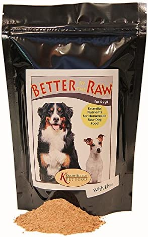 Better in The Raw for Dogs – Make Your own Balanced RAW Dog Food at Home Dog Food Supplement