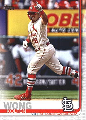 2019 Topps Series Two Baseball #551 Kolten Wong St. Louis Cardinals Offical MLB Trading Card ()