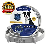 Dog Collars, for Cats Dogs Up to 8 Months Protection Health Hypoallergenic and Waterproof Adjustable Size Fits All Large Medium and Small Dog: more info