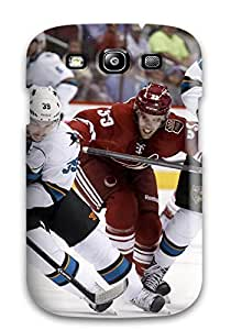 Galaxy S3 Case Cover Skin : Premium High Quality San Jose Sharks Hockey Nhl (69) Case