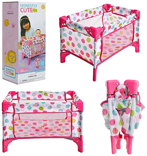 Honestly Cute - FOLDING CRIB - by Jakks Pacific