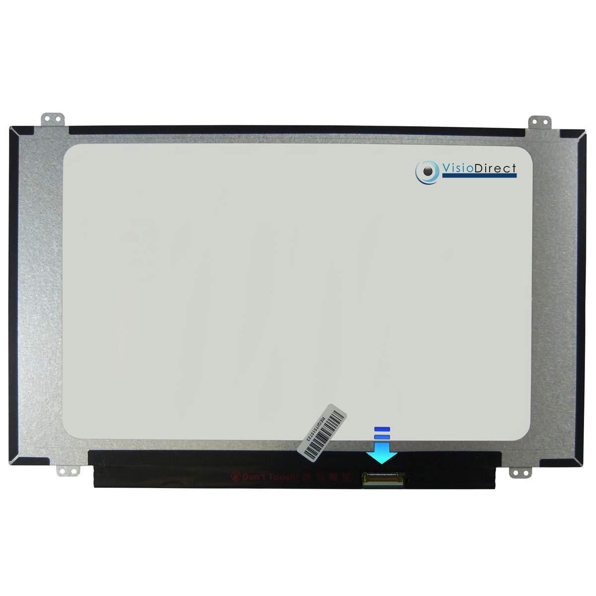 VISIODIRECT Dalle ecran 14LED Type NT140WHM-N44 V8.0 pour BOE BOEHYDIS 1366 x 768 30pin 315mm