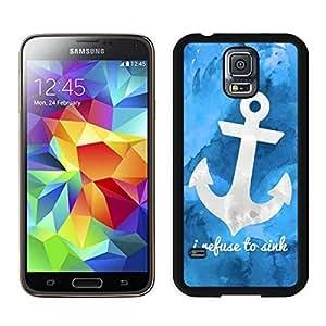 BINGO most popular Art Anchor Samsung Galaxy S5 Case Black Cover