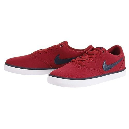cheap for discount 1de67 af313 Nike SB Check Solar Cnvs, Zapatillas de Skateboarding para Hombre   Amazon.es  Zapatos y complementos
