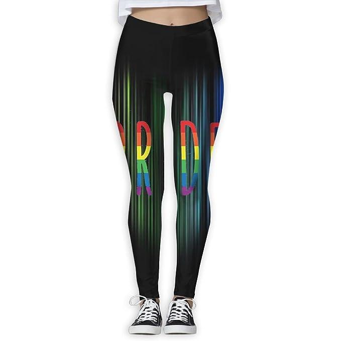Amazon.com: zpeng Yoga Capris orgullo Gay LGBT de fitness ...
