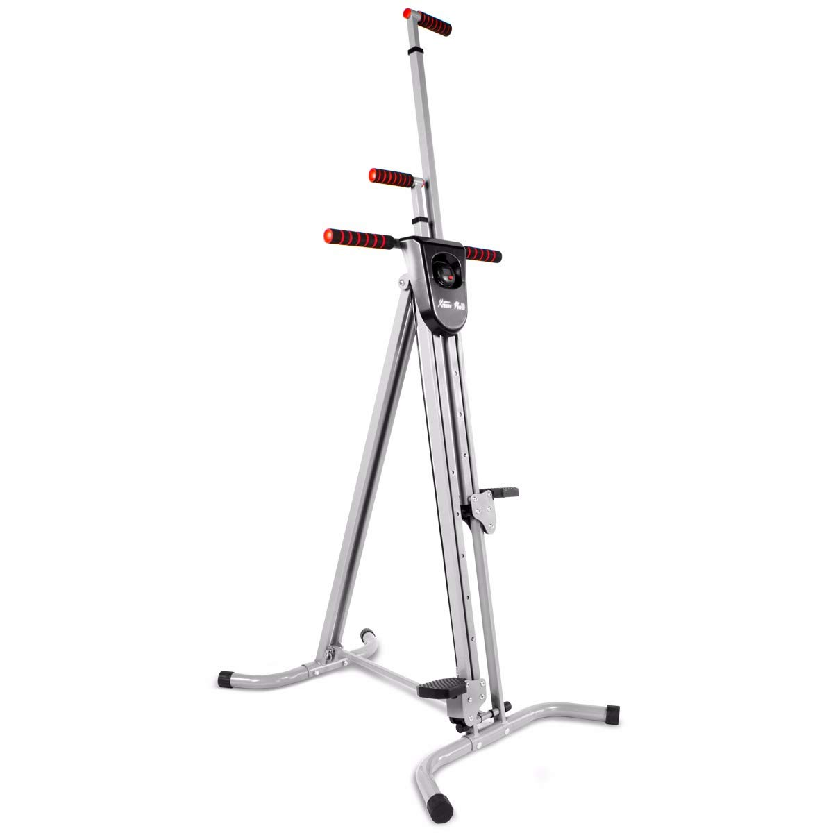 XtremepowerUS Vertical Climber Fitness Cardio Exercise Machine