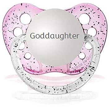 Amazon.com: Chupetes nieta Chupete personalizado en Glitter ...