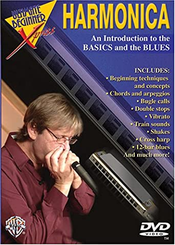 Alfred Ultimate Beginner Xpress Harmonica DVD (Hart To Hart Dvd Complete Series)