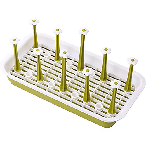 Awayyang Plastic Drain Rack Glass Holder (Sale Pie For Antique Cabinet)