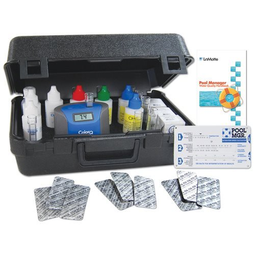 LaMotte ColorQ Pro 9 Plus Digital Liquid Pool & Spa Chemical Water Testing Kit by LaMotte