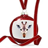 Christmas Decoration Low Poly Animals Modern design Giraffe Ornament