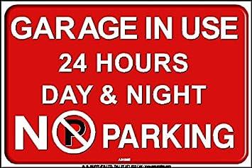 No parking adesivi autoadesivi cartello A S Supplies Ltd