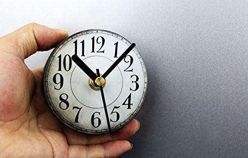 ZHGI Vintage digital europeo antiguo reloj de pared Reloj de nevera americana creativa y gráficos de burbujas de viscosidad magnética pegatinas
