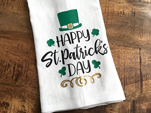 St. Patricks Day Kitchen Towel - Luck of The Irish
