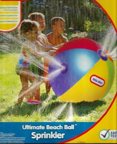 Ultimate Beach Ball 88'' Sprinkler Toy by Little Tikes