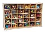 Kid's Play 30 Tray Storage Unit w Clear Trays (Green Apple)