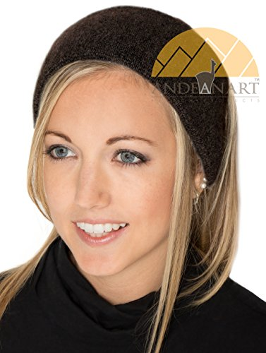LUXURY ALPACA Ear Warmer Headband Ski/Snowboard/Sport Infused with JOJOBA Oil - BEST NATURAL THERMAL PROTECTION
