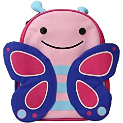 Skip Hop Zoo Insulated Lunch Bag, Blossom Butterfly