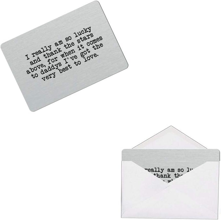 Hero Dad Keepsake-Mini Card Wallet//Purse Gift Card-Fathers Day Gift-Dad Gift
