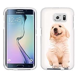 Samsung Galaxy S6 Case, Snap On Cover by Trek Puppy Golden Retriever Case