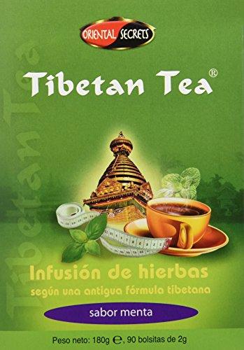 Tibetan Tea Infusión de Hierbas Menta - 90 bolsitas