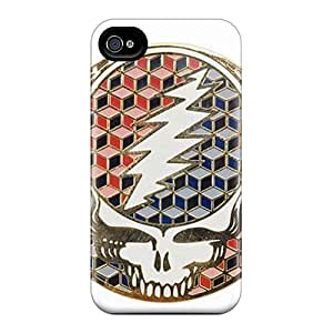 High Quality Hard Cell-phone Cases For Iphone 4/4s (mdH16582NAvb) Allow Personal Design Trendy Grateful Dead Skin