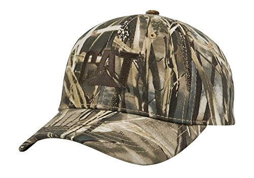 Cat Realtree Max 4 Camo/Brn Cap