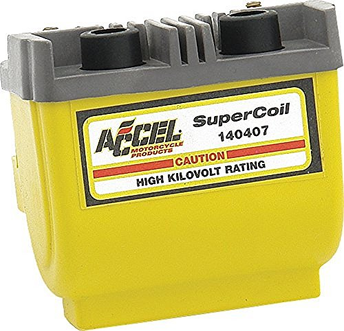Dual Coil Dyna (ACCEL Dual Fire Super Coil for Electronic Ignition 140407)