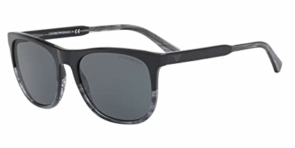 Amazon.com: Emporio Armani ea4099 Gafas de sol azul w/Gray ...