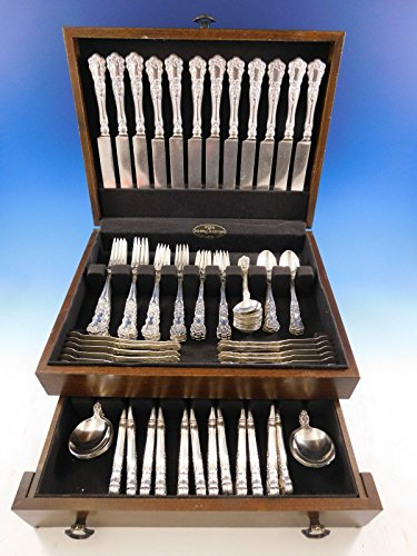 Buttercup by Gorham Sterling Silver Flatware Set for 12 Service 108 pcs Dinner - Gorham Buttercup Dinner