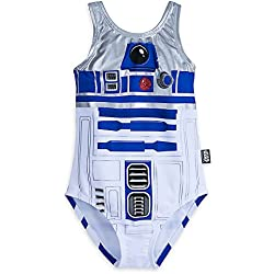 Star Wars R2-D2 Swimsuit For Girls Size 9/10 458035940752
