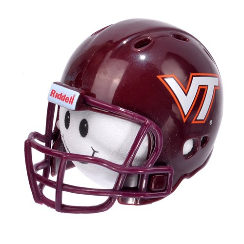 NCAA College Football VT Virginia Tech Hokies Car Antenna Topper & Yellow Smiley Antenna Topper Tenna Tops®