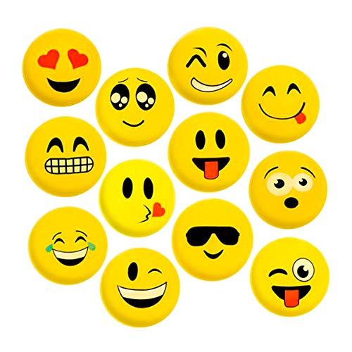 - Kicko Vinyl Emoticon Ball - Pack of 12 9