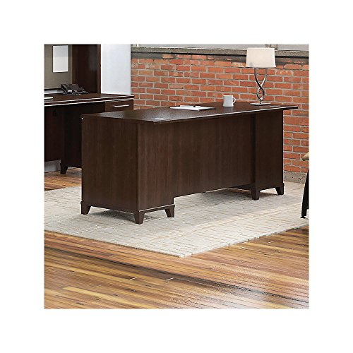 Bush Business Furniture Enterprise Collection 72W Double Pedestal Desk in Mocha ()