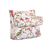 MS Pillow Sofa Bed Headrest Bedside Triangle Backrest Soft Cushions On The Bed Office Lumbar Pillow Neck Guard Protection Waist Headrest Waist Pads Washable Multiple