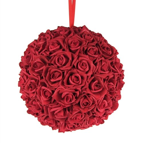 Kissing Ball Centerpieces - Homeford Firefly Imports Soft Touch Foam