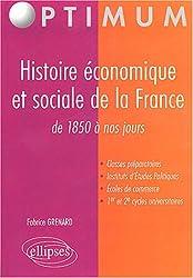 Histoire économique et sociale de la France, fin XIXe-XXe siècles
