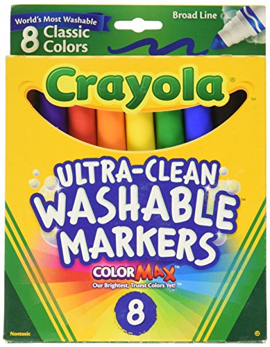 Crayola Broad Point Washable Markers product image
