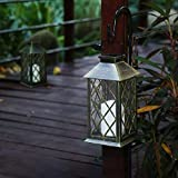Outdoor Solar Lights Hanging Lanterns with LED