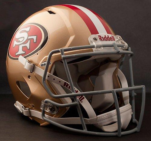 Authentic Mini Nfl Football Helmet - NFL San Francisco 49ers Speed Authentic Football Helmet
