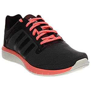 adidas Performance Women's CC Cross Country Fresh 2 W Running Shoe, Core Black/Black/Light Flash Red, 11 M US