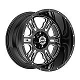 VISION WHEEL - 397 rage - 18 Inch Rim x 9 - (6x5.5) Offset (12) Wheel Finish - gloss black milled spoke