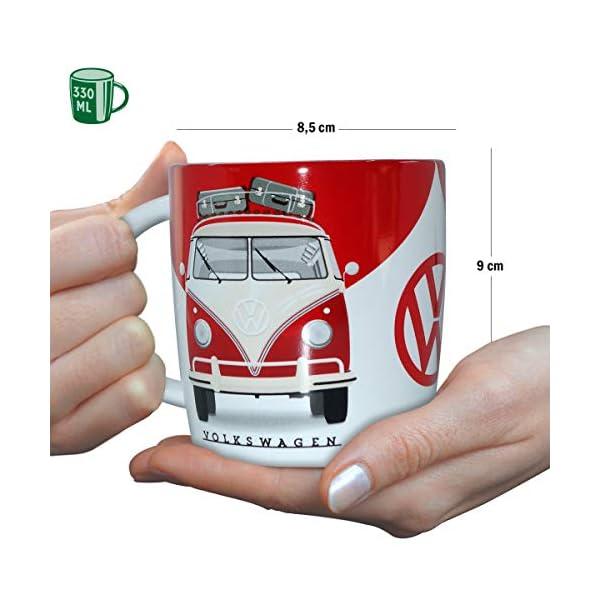 Nostalgic-Art - Volkswagen Retro Kaffee-Becher - VW Bulli T1 - Good In Shape, Große Lizenz-Tasse als Vintage VW Bus…