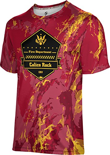 ProSphere Men's Calico Rock Volunteer Fire Department Marble Tech Tee Calico Marble