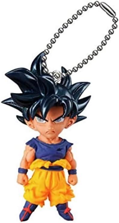 Dragon Ball Gashapon Keychain Super Saiyan 3 Gohan UDM The Best 14 3D