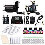 Dragonhawk Tattoo Kit, Extreme Rotary and Craft Coils Tattoo Machine, Tattoo Power Supply Immortal Inks and more Supplies