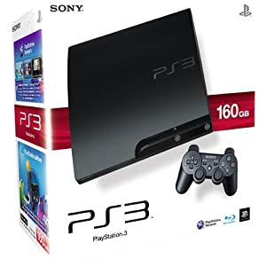 [Amazon UK] Playstation 3 (160GB) + Game nach Wahl (Battlefield 3/FIFA 12/Need for Speed: the Run) + Triggers für nur ca. 222,26€