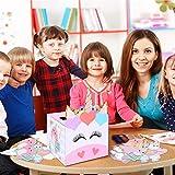 Valentine Boxes for Kids - Unicorn Valentines Day