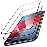 TORRAS iPhone Xs Max Screen Protector, 0.25mm [Full Coverage] Tempered Glass Screen Protector for iPhone Xs Max (6.5 inch),Scratch Proof and Easy Installation with